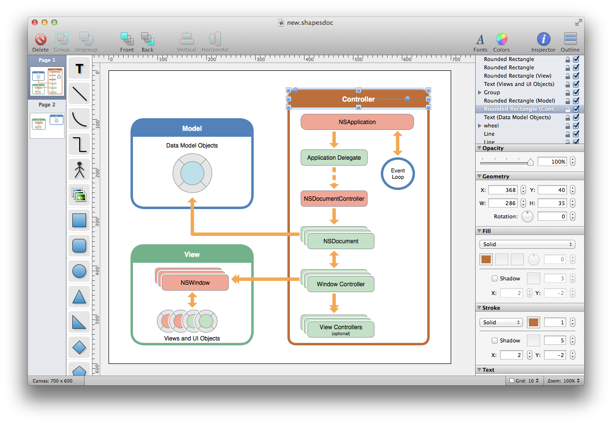 Runway a simple yet powerful native uml design app for mac os x image inspired by destroy all software ccuart