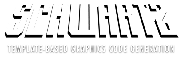 Schwartz: Template-Based Graphics Code Generation